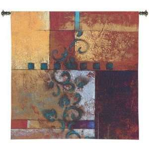Pure Country Weavers Morning Dream I Woven Wall Tapestry
