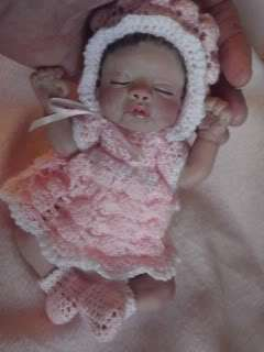 OOAK POLYMER CLAY 7  ART DOLL/BABY , S. BODY, NIKKI