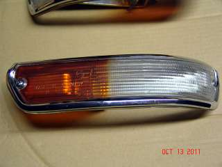 BMW 1600 2002tii 2002ti Italian Euro Turn Signal Weisse Blinker Turbo