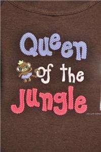 Gymboree Glamour Safari Jungle Queen Shirt NWT