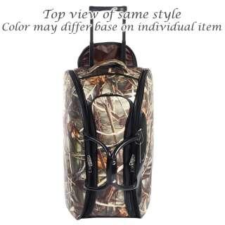 ® camouflage wheeled rolling duffel bag luggage coffee