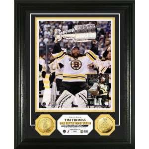 NHL 2011 Stanley Cup Conn Smythe Trophy Winner 24KT Gold