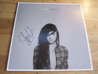 SIGNED ALBUM EXACT PROOF COA AUTOGRAPHED VINYL RECORD