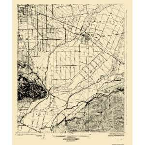 USGS TOPO MAP EL MONTE CALIFORNIA (CA) 1926 Home