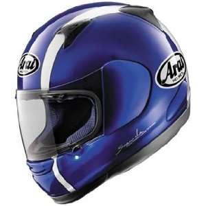Full Face Motorcycle Riding Race Helmet   Passion Blue Automotive