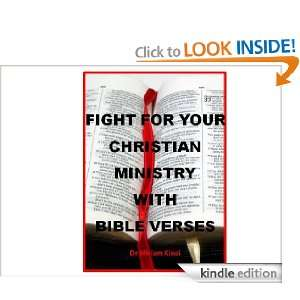 How to Fight for your Christian Ministry with Bible Verses (Christian