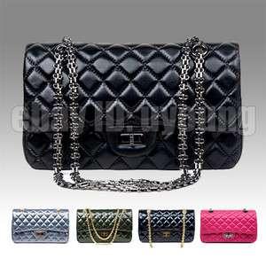 High quality Sheepskin leather Paris fashion classic womans shoulder