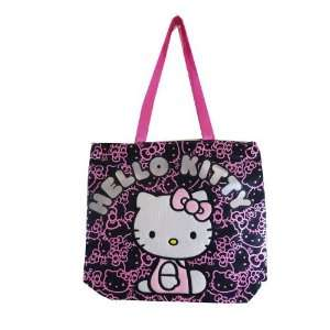 Hello Kitty Tote Bag Black 81414 Toys & Games