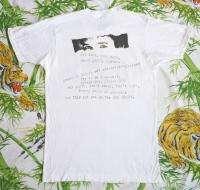 BOB DYLAN Vintage Concert SHIRT 80s TOUR T RARE ORIGINAL 1989