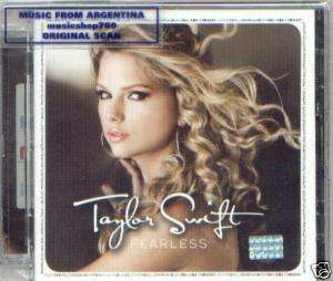 TAYLOR SWIFT FEARLESS 16 SONGS IMPORT RARE SEALED CD