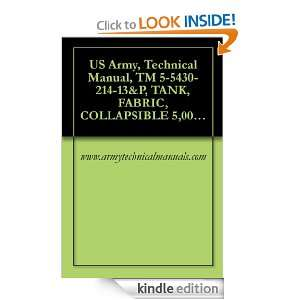 US Army, Technical Manual, TM 5 5430 214 13&P, TANK, FABRIC