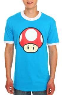 Nintendo Super Mario Bros. Mushroom Ringer T Shirt
