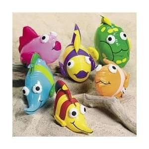 Vinyl Inflatable Tropical Fish Toys & Games