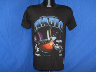 vintage ORLANDO MAGIC BASKETBALL HAT WAND 90S BLACK UNWORN t shirt
