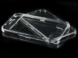 CRYSTAL CLEAR HARD CASE COVER FOR NEW APPLE IPHONE 4G 4