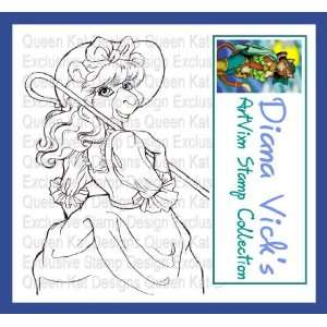 Bo Peep Unmounted Rubber Stamp