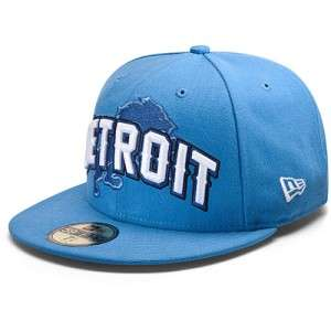 DETROIT LIONS NFL NEW ERA 59FIFTY DRAFT DAY STRUCTURED FITTED HAT