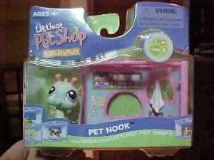 Littlest Pet Shop SEA HORSE Bathroom Nook #348 new