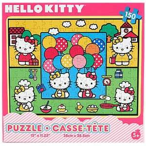Hello Kitty 150 Piece Puzzle Toys & Games