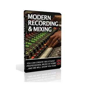 of the Pros Modern Recording & Mixing DVD Set Musical Instruments