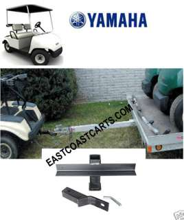 Yamaha Golf Cart TRAILER HITCH with 2 RECEIVER