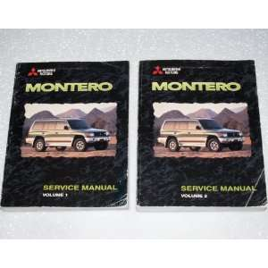 Service Manuals (2 Volume Set) Mitsubishi Motors Corporation Books