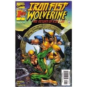 Iron Fist Wolverine, Vol 1 #1 (Comic Book) JAY FAERBER
