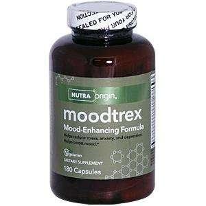 NutraOrigin Moodtrex, Mood Enhancing Formula 180 capsules