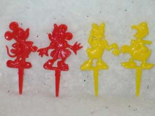 Minnie Mickey Mouse Daisy Donald Duck Candle Holders