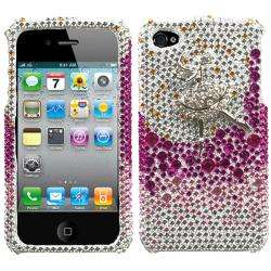 Premium Apple iPhone 4/4S Dancing Ballet Girl Rhinestone Case