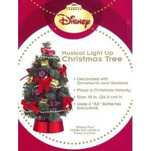 Disney Pixar Cars Musical Light Up Christmas Tree