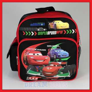 Disney Cars 2 McQueen WPG Toddler 10 Backpack   Small