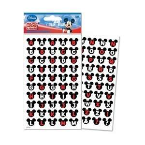 Disney Mickey & Friends Alphabet Dimensional Stickers Ears