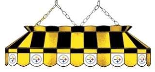 NFL Pittsburgh STEELERS Pool/Billiard Table Light   NEW