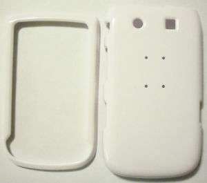 WHITE BlackBerry Torch 9800 Faceplate Case Cover Snap