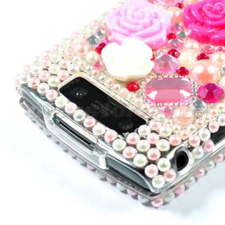 BLING RHINESTONE CASE COVER BLACKBERRY TORCH 9800 /02