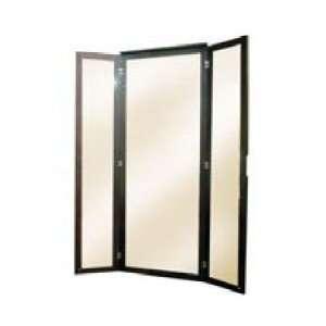 Porta Dark Walnut Wall Mirror Xena Wall Mirrors