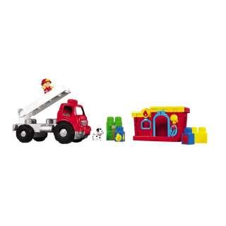 Mega Bloks Playn Go Fire Truck Toy Set