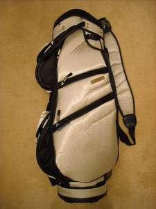 MIZUNO TAVA SPORT LADIES DIAMOND CART BAG   34 HIGH   NEAR FLAWLESS
