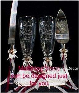 Glass Heart Crystal Swans Wedding Cake Topper Ornament