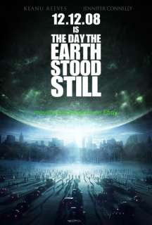 DAY THE EARTH STOOD STILL MOVIE POSTER 1S 27x40 ADVANCE