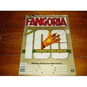 Fangoria Horror Magazine Issue # 100 March 1991 Starlog Books