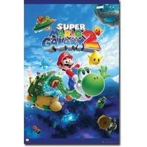 Super Mario Galaxy 2   Nintendo Gaming Poster (Size 24 x 36