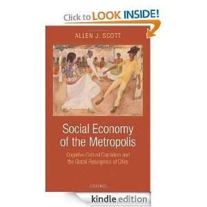 Social Economy of the Metropolis Cognitive Cultural Capitalism and