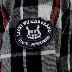Jacky Wilkins Mens Plaid Flannel Shirt