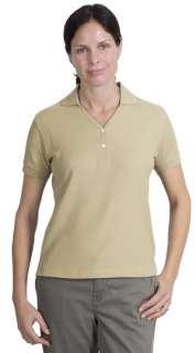 Port Authority Ladies 100% Pima Cotton Sport Shirt. L448