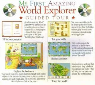 My First Amazing World Explorer PC MAC CD kids learn Earth countries