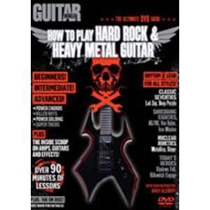 Rock & Heavy Metal Guitar (DVD) Alfred Publishing Staff Movies & TV