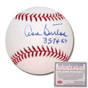 Don Sutton Los Angeles Dodgers Hand Signed Rawlings MLB Baseball with