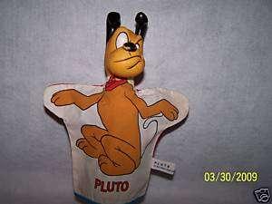Walt Disney Pluto Mickey Mouse dog hand puppet